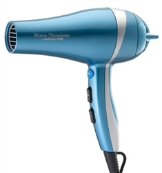 BABYLISS PRO PROFESSIONAL NANO-TITANIUM, CERAMIC AND IONIC HAIRDRYER