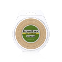 Walker Tape German Brown 3/4 X 12 Yrd Hair System Tape